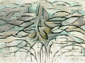 Pommier en fleur de mondrian - L arbre le pommier ...